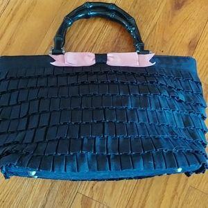 Pretty ruffled Braciano Handbag satchel